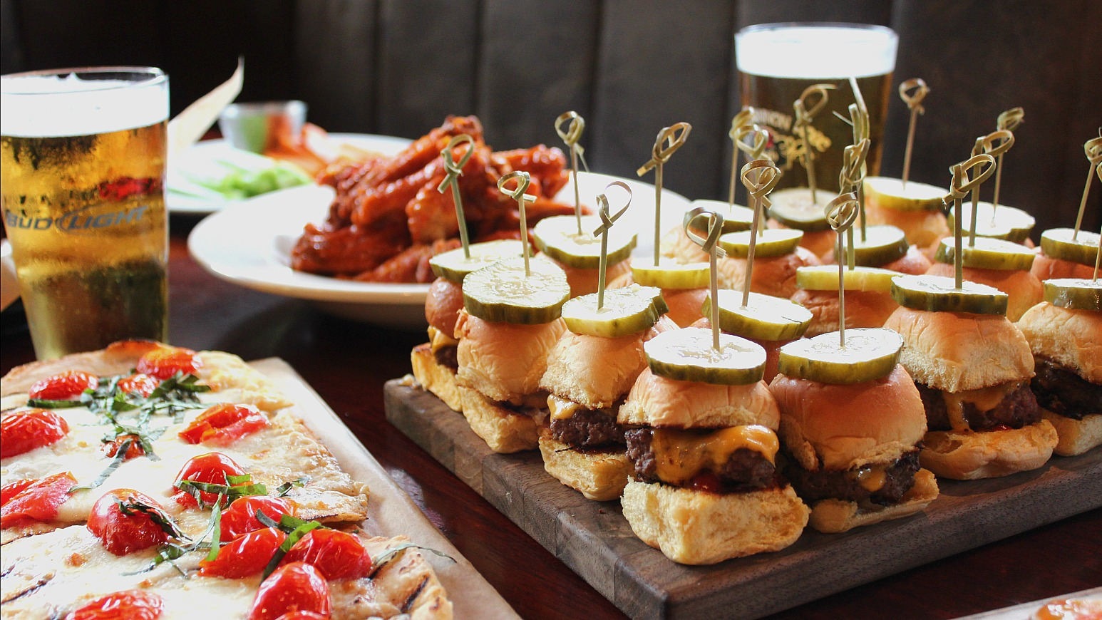 football party platters