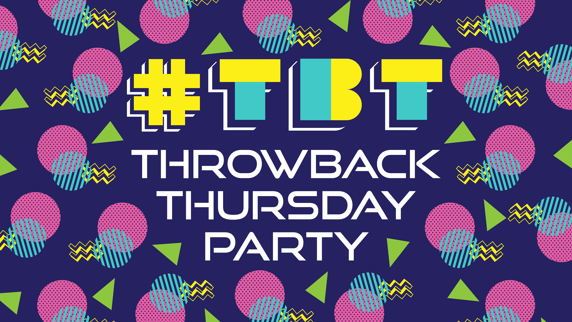 throwback Thursday party