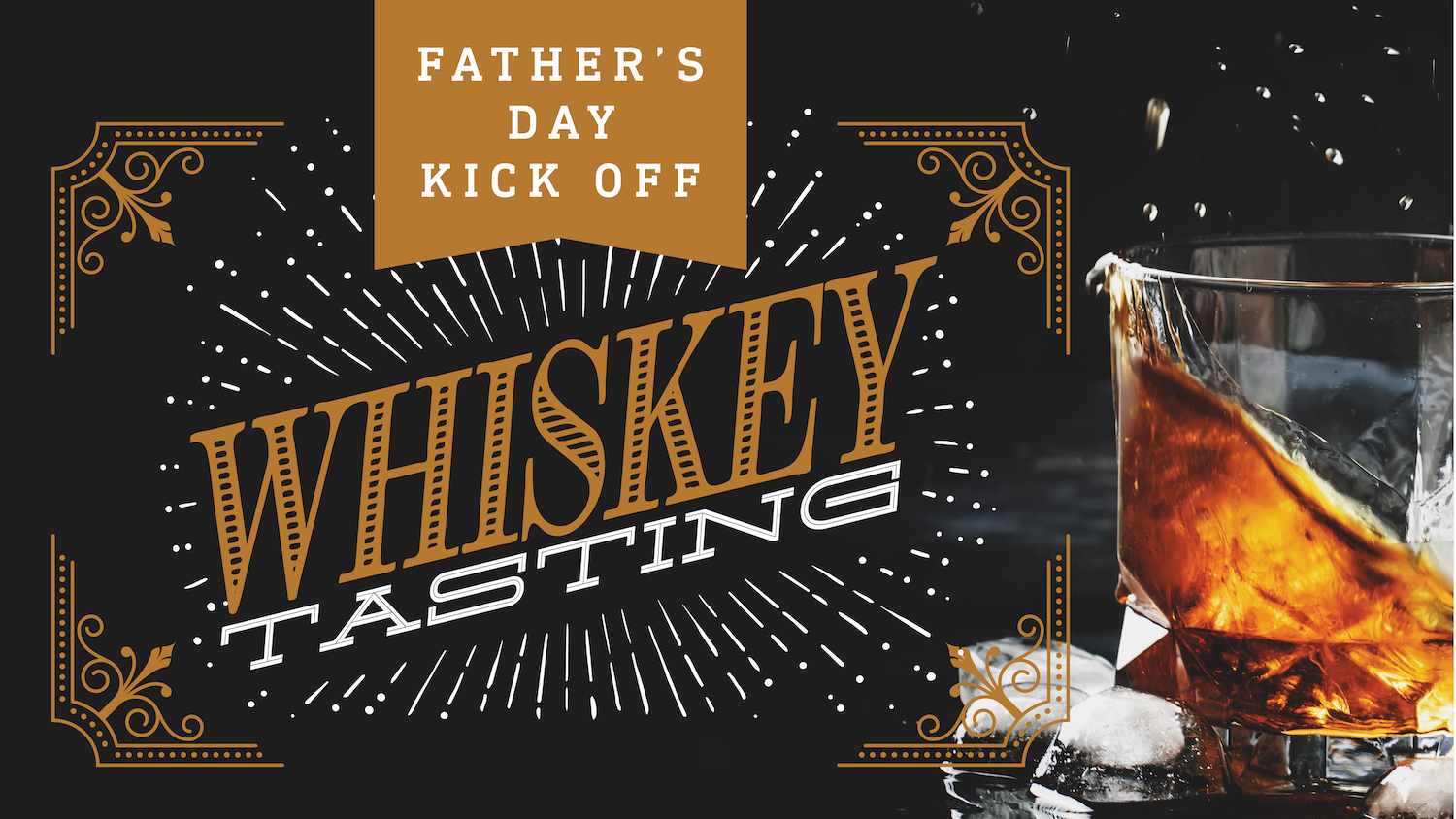 Fathers day whiskey tasting